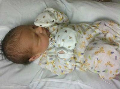 Baby milk coma 6-29-2011