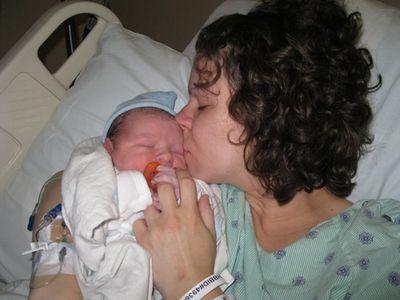 Kissing Liam 6-29-11