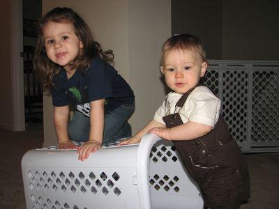 Kara and Nathan loft hamper