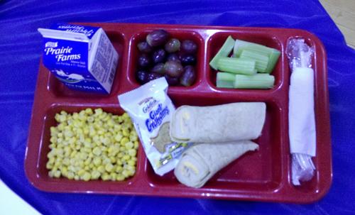 School lunch 4-10-13