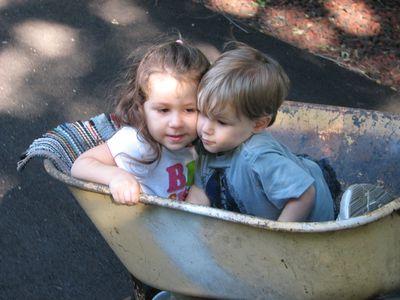 Kara Nathan wheelbarrow Sep 2010
