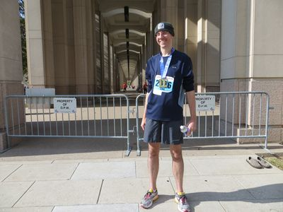Monumental Marathon Finisher 11-2-13
