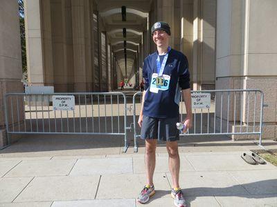 Monumental Marathon Finisher 11-2-13