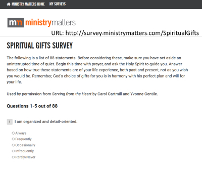Ministry Matters Website copy